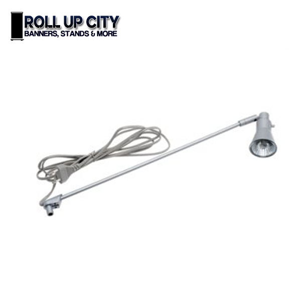 Roll Up Banner Stand Lights