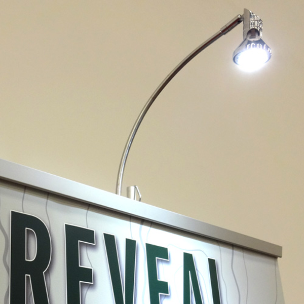 Retractable Banner Light