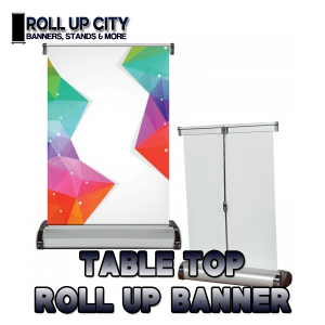 table top retractable banner stands toronto