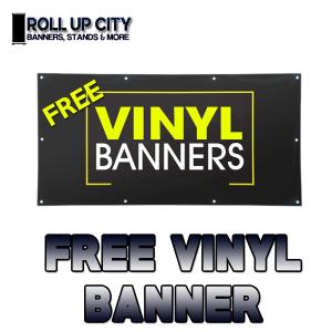 Free Vinyl Banner Printing
