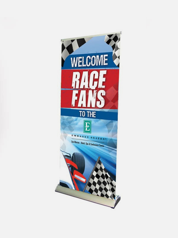 Deluxe Roll Up Banner