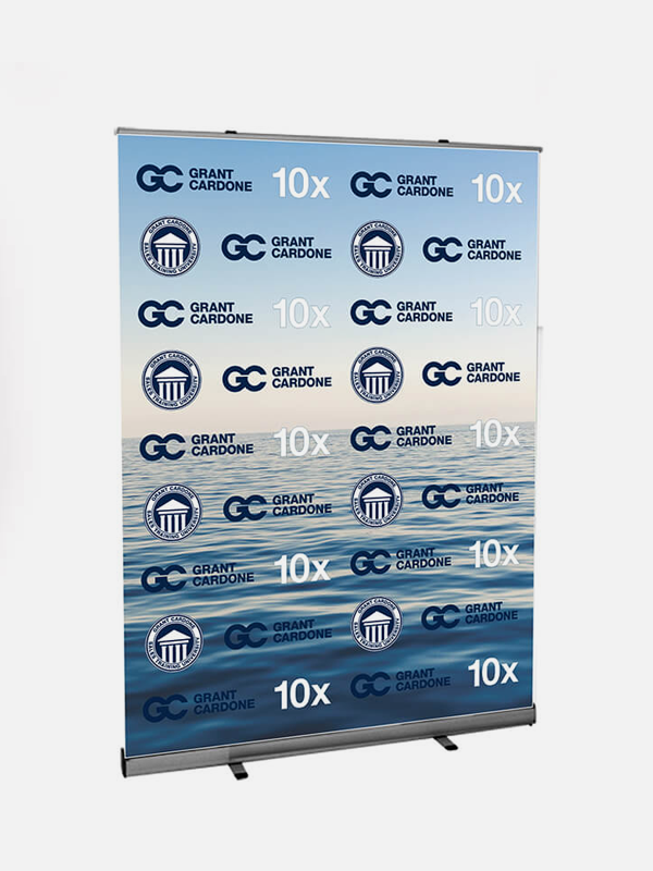 Extra Wide Roll Up Banner