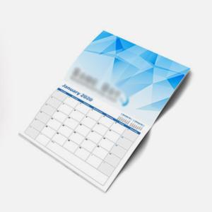 Wall Calendar Folded
