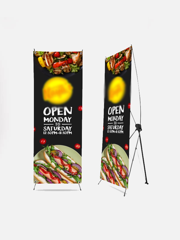X-Banner Stand with Print